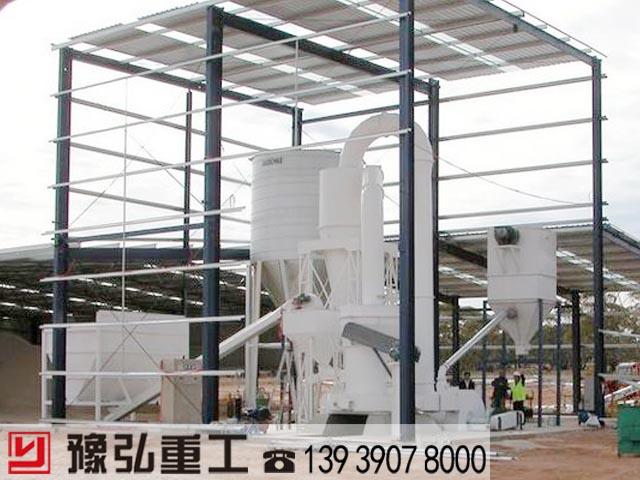 大奖娱乐官网_重晶石生产线设备在工业制粉行业的应用